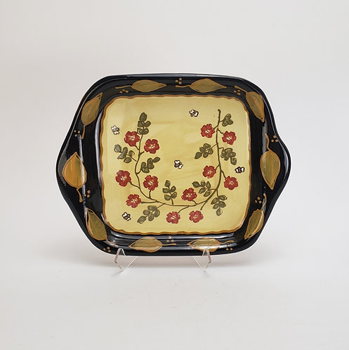 Old Rose Square Tray
