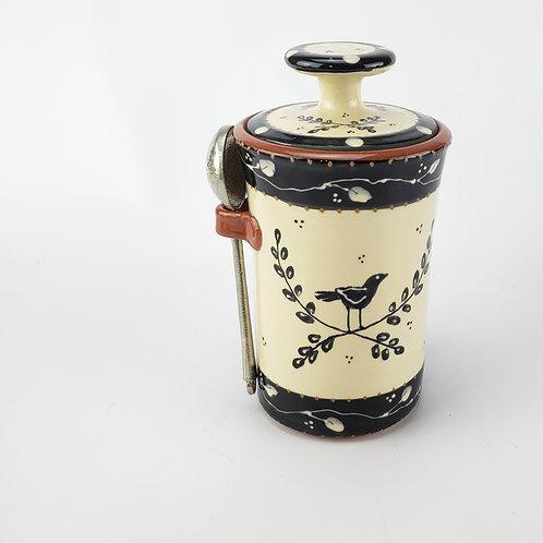 Laurel Coffee Jar