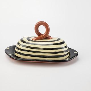 Spiral Butterdish