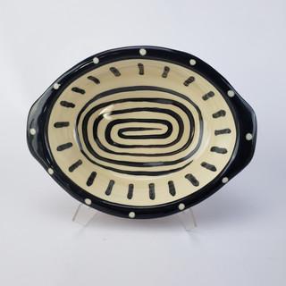 Spiral Oval Baker