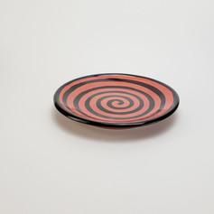 Red Confetti 8 inch salad plate