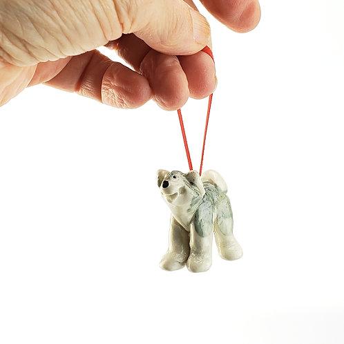 Husky Ornament