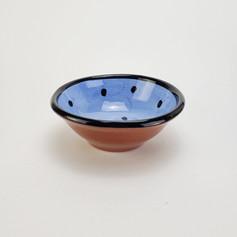 Blue Confetti 7 inch dessert bowl