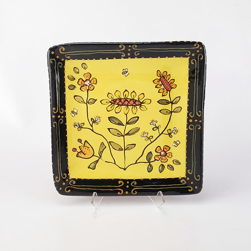 Silk Road Square Plate