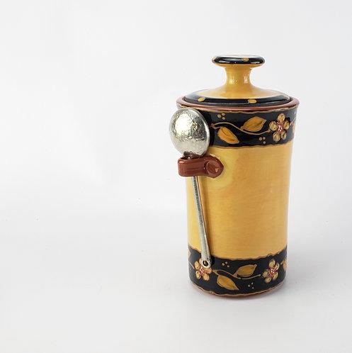 Victoria Coffee Jar