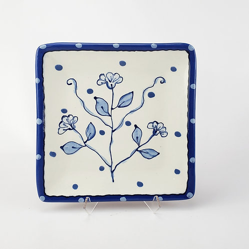 New Delft Square Plate