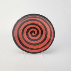 Red Confetti Salad Plates