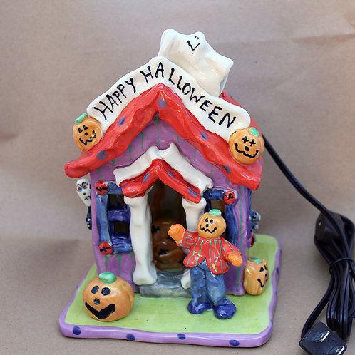 Happy Halloween Night Light House