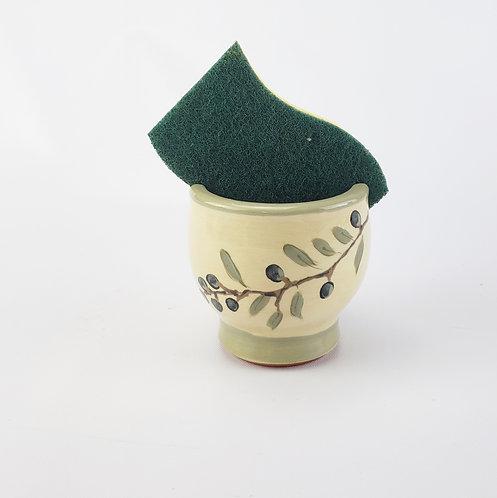 Olive Branch Sponge Holder