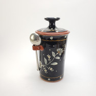 Flora Coffee Jar