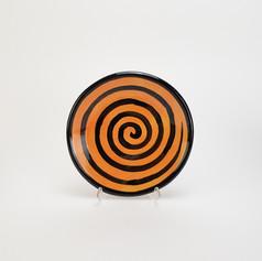 Orange Confetti 8 inch salad plates.jpeg