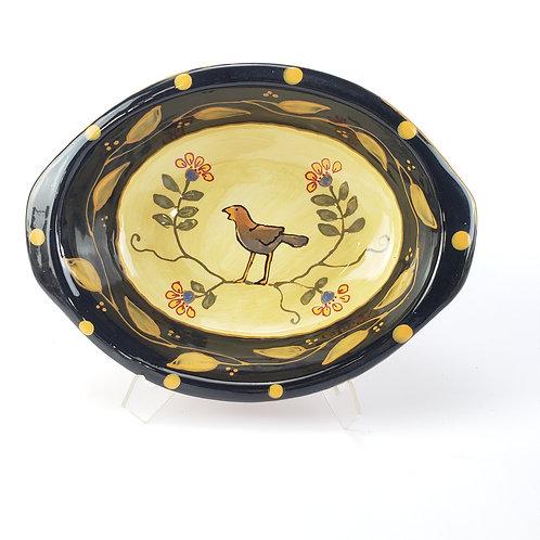 Song Bird Oval Baking / Serving Dish