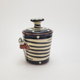 Spiral Sugar/ Salt Jar