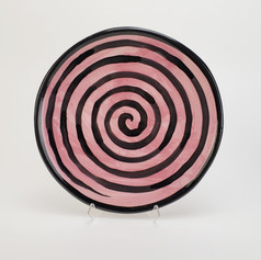 Pink Confetti 10.5 inch Dinner Plate