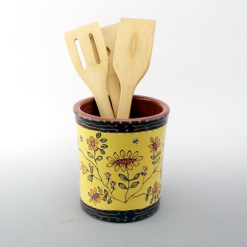 Silk Road Utensil Jar
