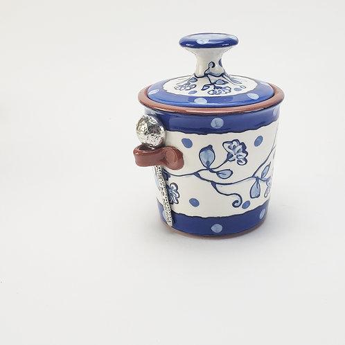 New Delft Sugar / Salt / Tea Jar