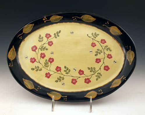 Old Rose Medium Platter