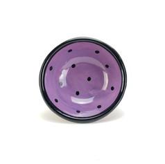 Purple Confetti 7 inch dessert bowl