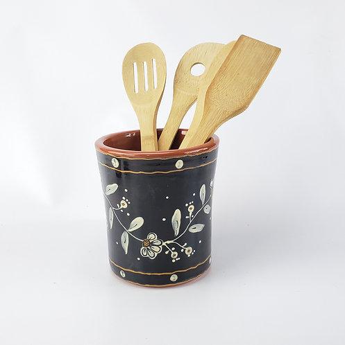Flora Utensil Jar