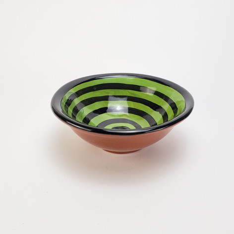 Green Confetti 8 inch soup bowl