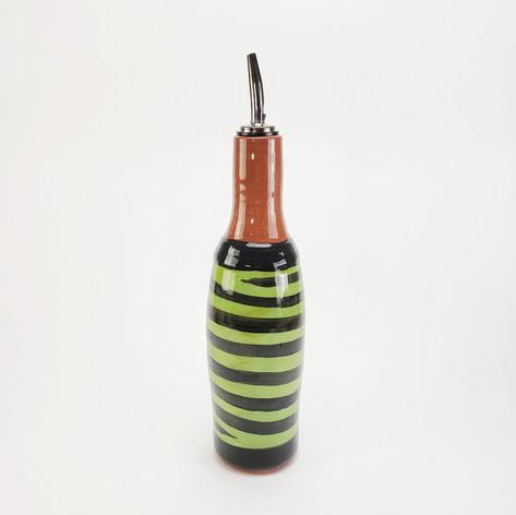 Green Confetti oil bottle