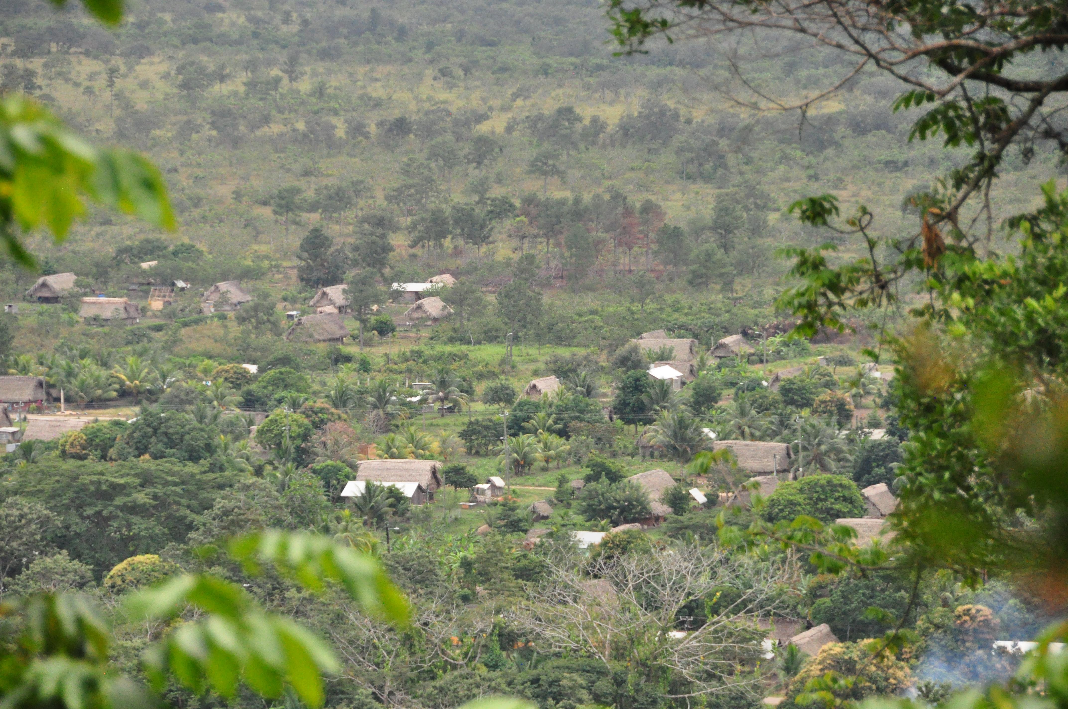 Mayan Village View