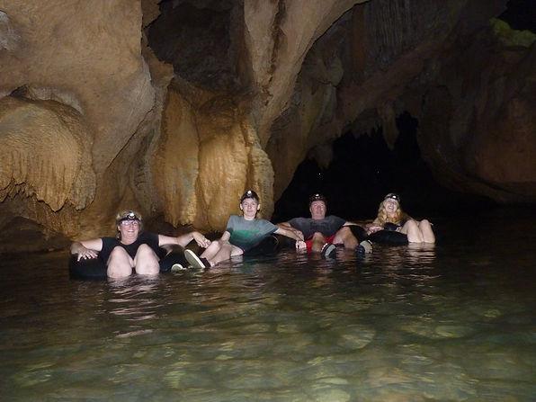 Belize Cave Tubing Tour