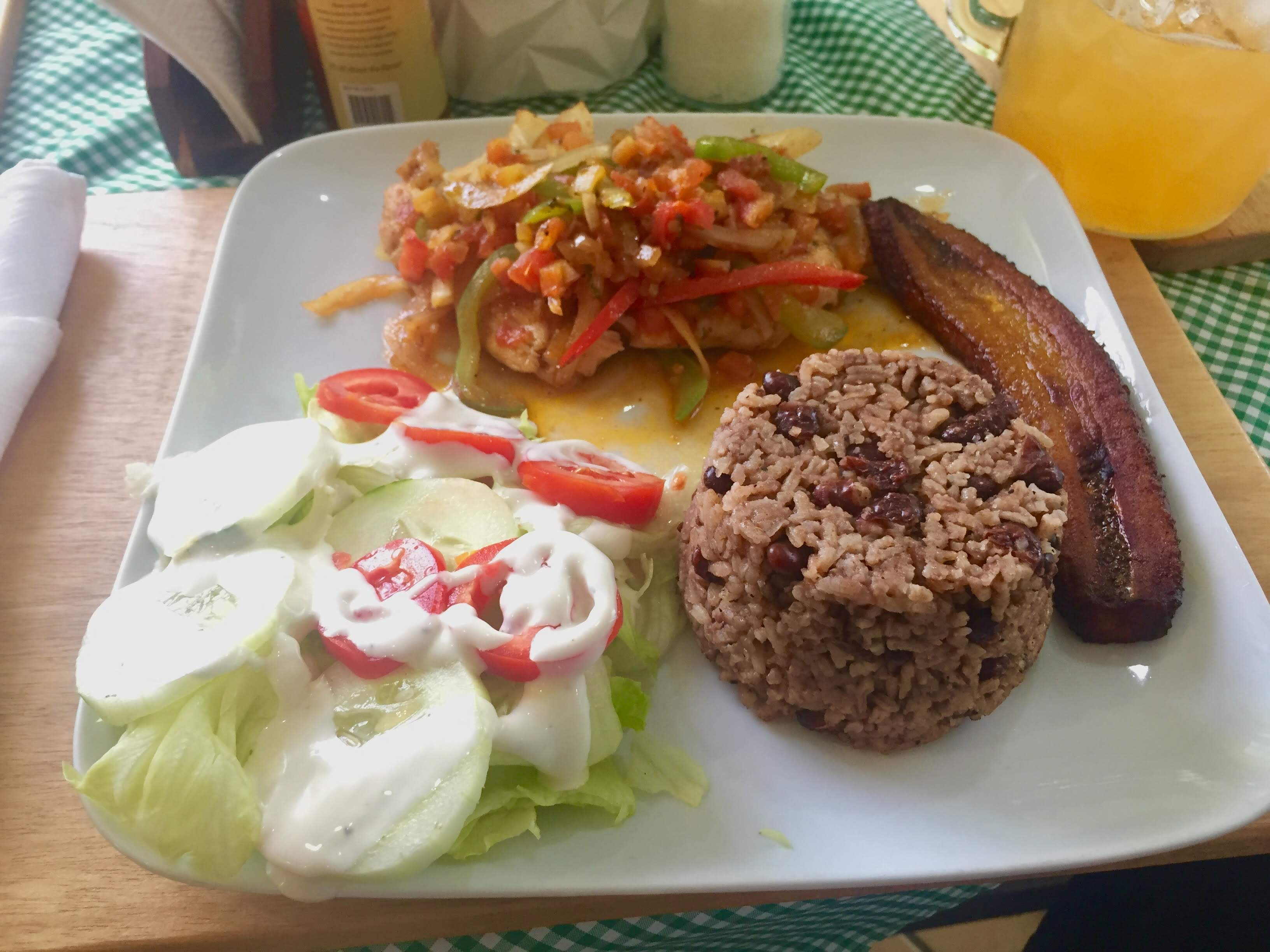 Belizean Lunch