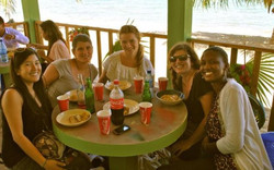 Sandy Beach restaurant Hopkins Belize So