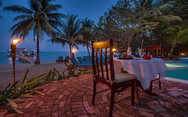 Hamanasi restaurant romantic dining 2 Ho