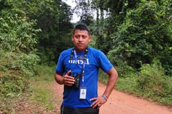 Tour guide Alex