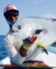 Permit fishing in Belize, Fly Fishing