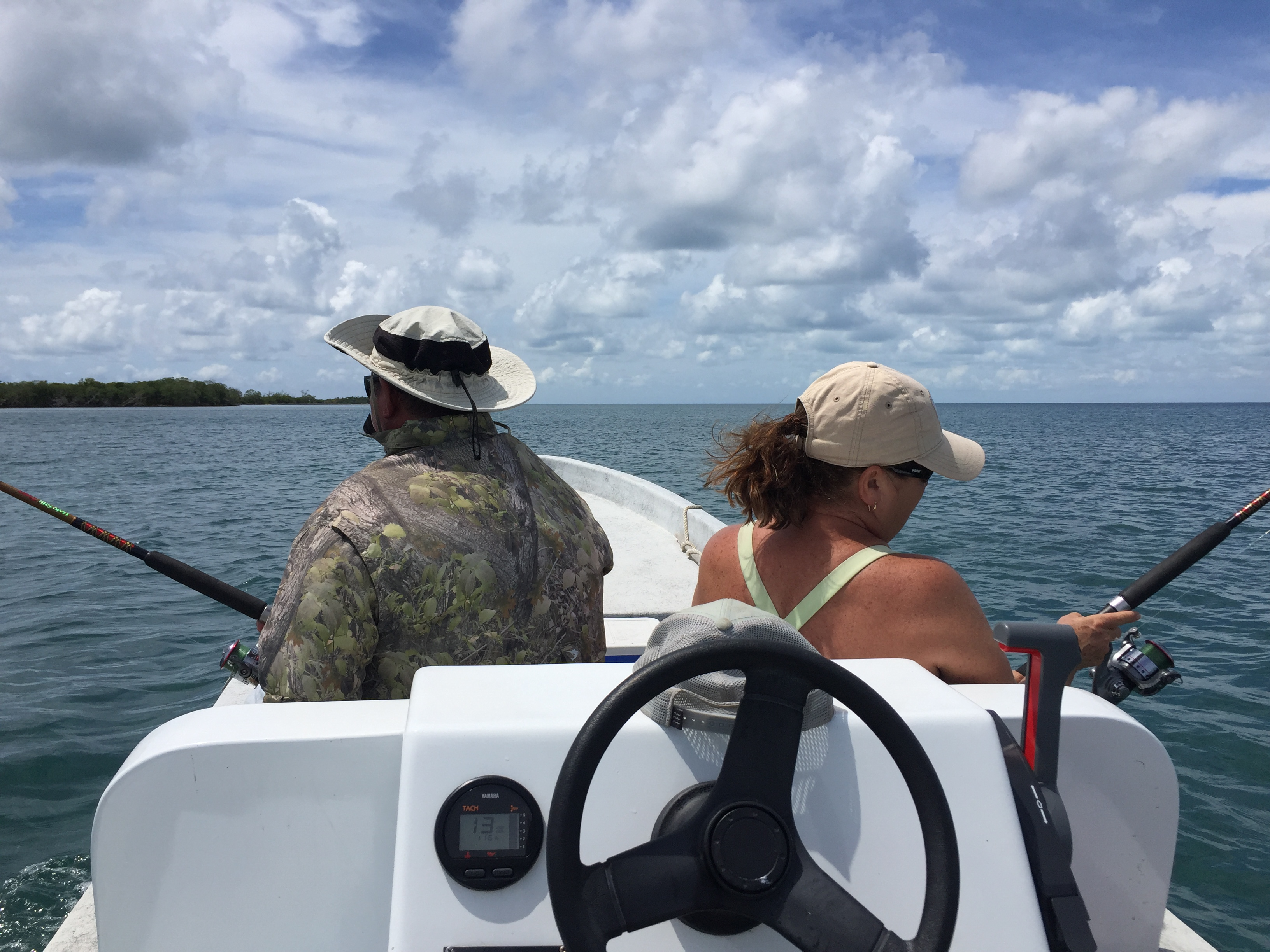 Trolling in Belize