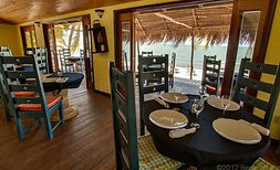 Chef Rob's restaurant Hopkins Belize Thi