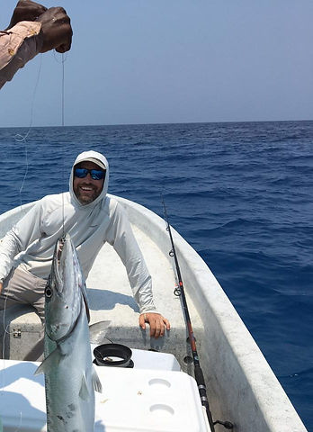 Reef Fishing from Hopkins Belize