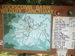 Cockscomb Basin Map