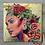 "Thumbnail: ""Salma"" 12x12 Acrylic Stretched Canvas Original"