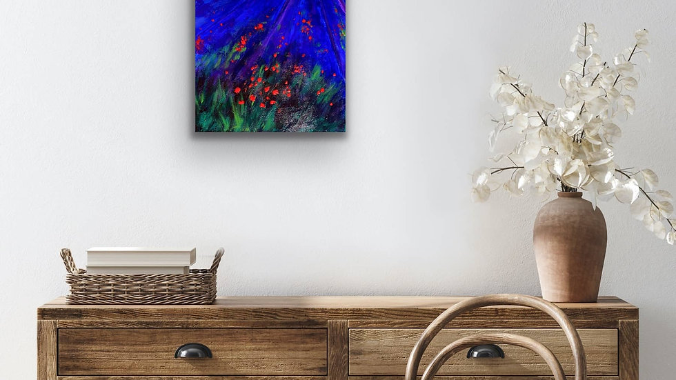 """Flourish"" 20x16 Acrylic Stretched Canvas"