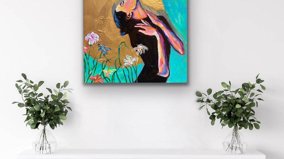 """""""Eternal Spirit"""" 12x12 Acrylic Canvas"""