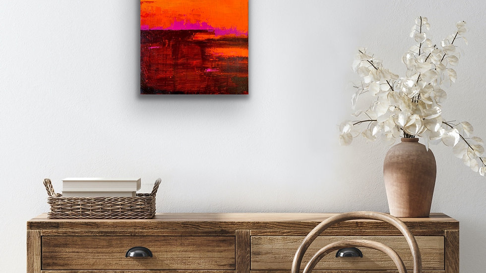"""""""Magic Hour"""" 20x16 Acrylic Stretched Canvas"""