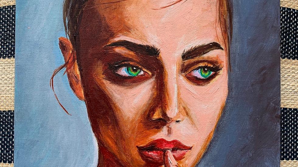 """Odessa"" 12x12 canvas panel"