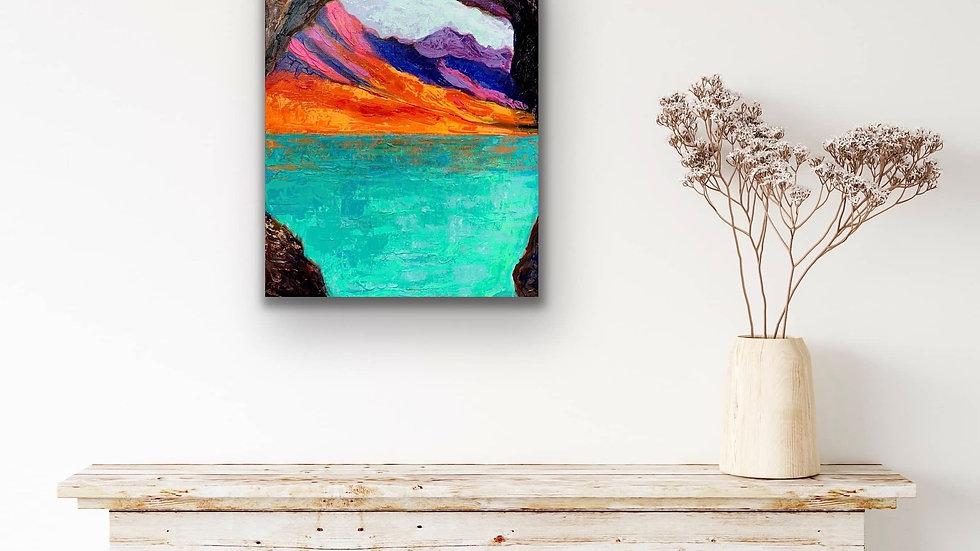 """""""Secret Place"""" Acrylic 20x16 Canvas"""