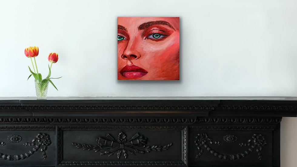 """Avisa"" 10x10 Acrylic Canvas Panel"