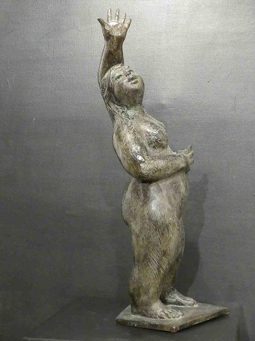 Divine louloutte , bronze