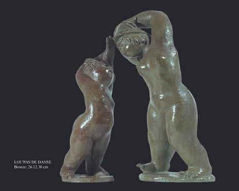 Lou' pas de danse, bronze