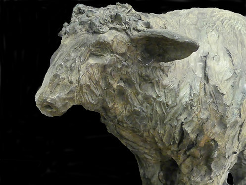 Mouton, bronze