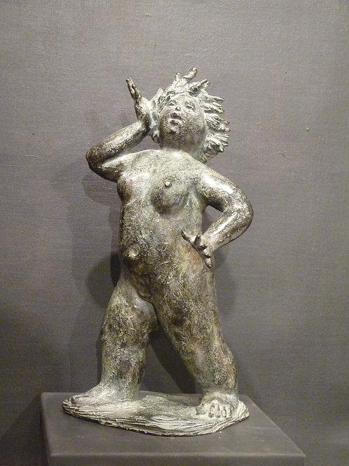 Louloutte soleil, bronze
