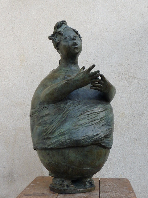 Lilas, bronze sur commande