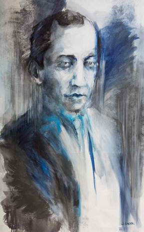 Portrait de Rachmaninov