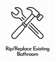 Master Kitchens & Baths Rip/Replace Existing Bathroom Services